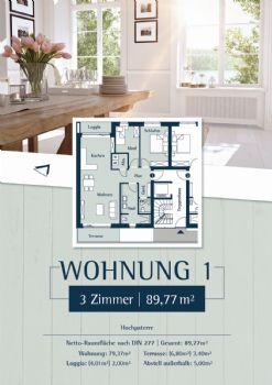 Wohnung 1: Plan 27a - Hochparterre links