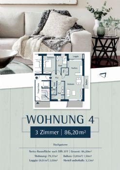 Wohnung 4: Plan 27 - Hochparterre rechts