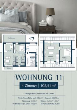 Wohnung 11: Plan 27 - Penthouse links