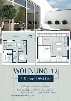 Wohnung 12: Plan 27 - Penthouse rechts