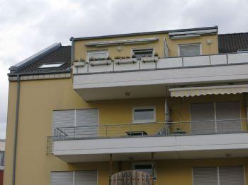 Rückansicht Balkon
