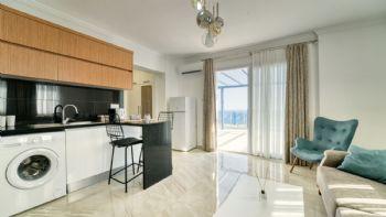 Wohnbereich, Küche