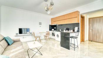 Wohnbereich,Küche