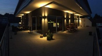 Terrasse Nachts
