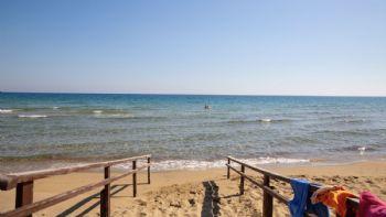 Der nahe gelegene Strand