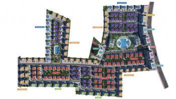 Plan der gesamten Anlage