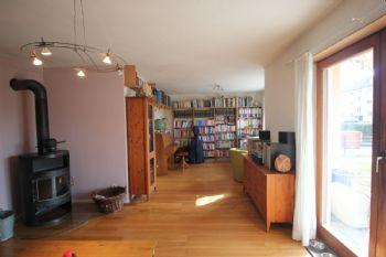 Wohnzimmer-Arbeitszimmer