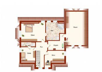 Zeichnung Obergeschoss