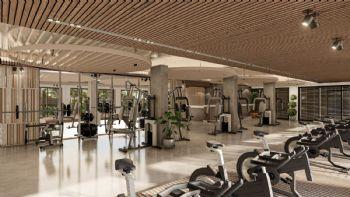 Fitnessbereich in der Anlage