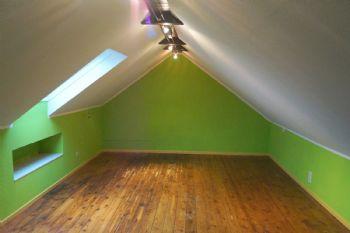 Dachboden als Stauraum