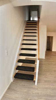 Treppe zu den Schlafzimmer