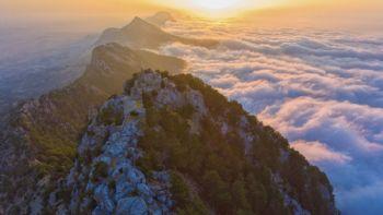 ...im beeindruckenden Gebirge