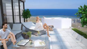 Terrassenwohnungen mit Jacuzzi
