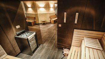 Sauna in der Anlage