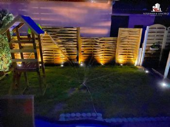 Garten Nachts