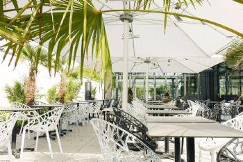 Hoga-Lounge Außenbereich