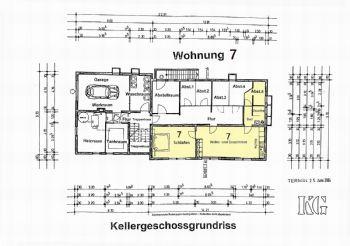 Grundriss Untergeschoss W 7