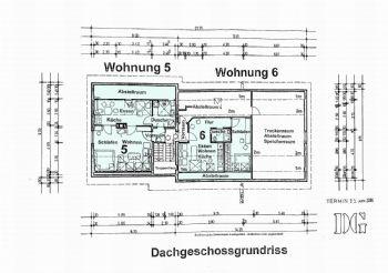 Grundriss Dachgeschoss W 5+6