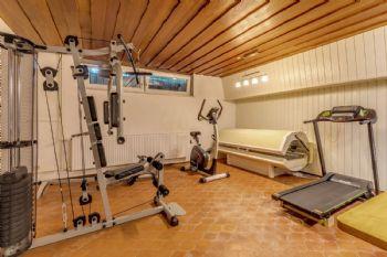Fitnessraum im Untergeschoss